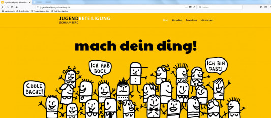 Homepage Jugendbeteiligung