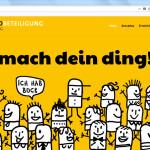 Homepage Jugendbeteiligung