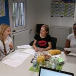 Klimabotschafterinnen verfassen Briefe für Haiti